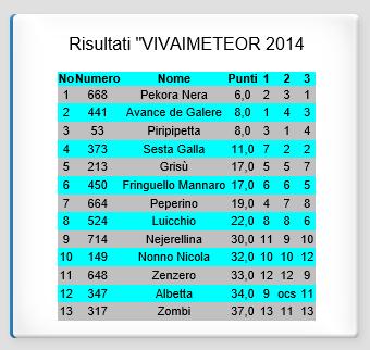 vivaimeteor2014