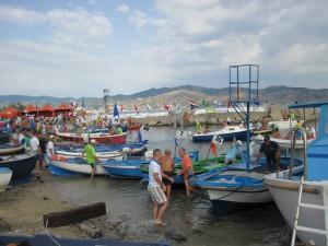 preparativi per il trasferimento in Sicilia