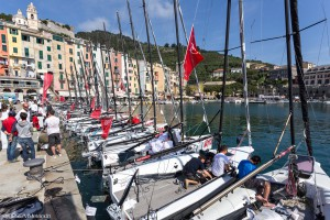 Day 1 Audi tron Sailing Series - Act 2 Melges 20 Portovenere, 8-10 May 2015 © BPSE/MMelandri