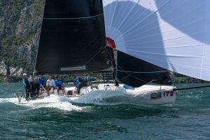 Giogi Sailing Series® Melges 32 Melges 32 European Championship Riva del Garda, 7-10 luglio 2016 ©BPSE/Barracuda Communication